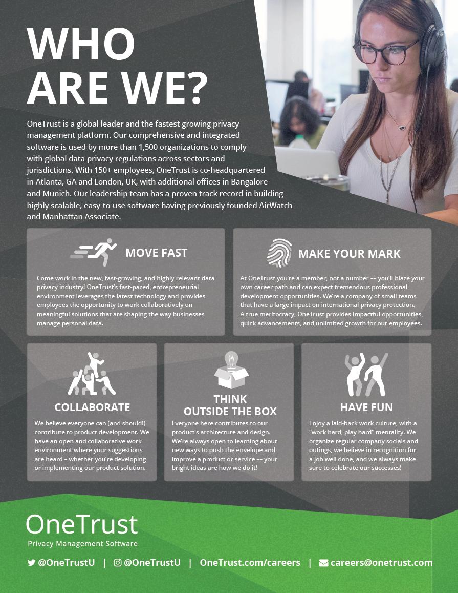 OneTrust Recruiting Slick