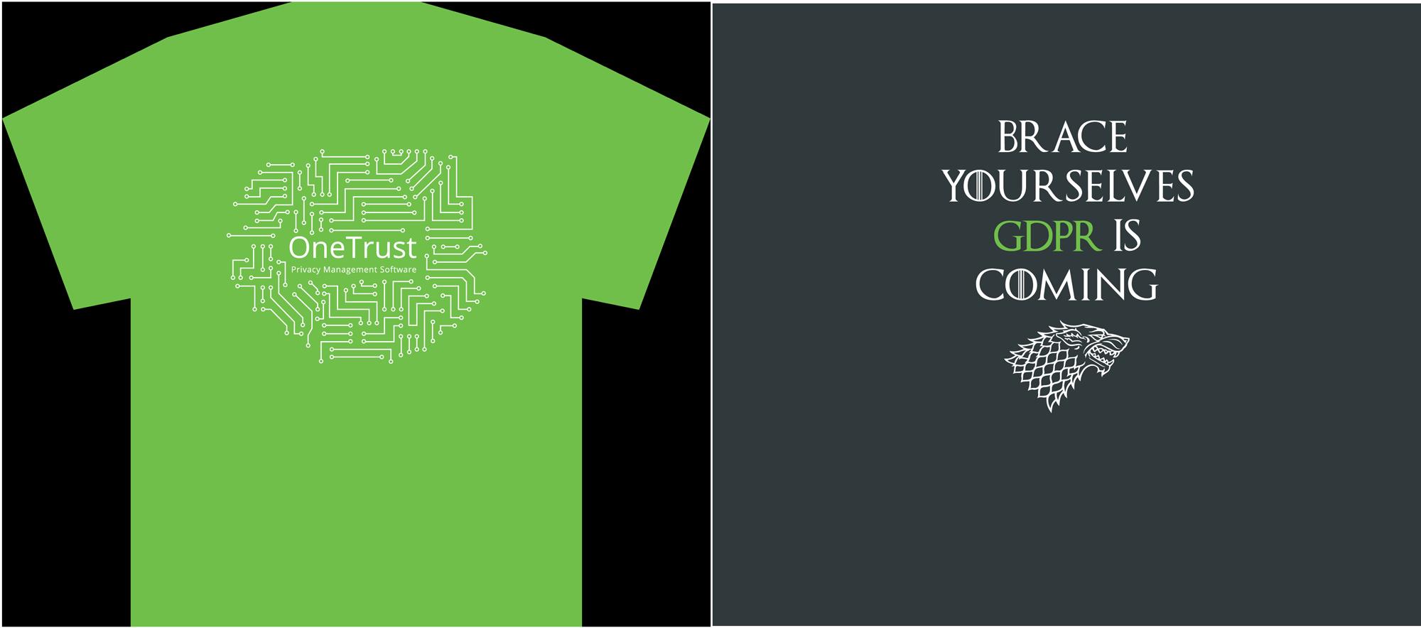 OneTrust Shirts